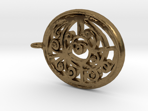 Joke Design in Natural Bronze