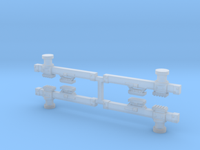 CA&E Third Rail Beam X4 in Smooth Fine Detail Plastic