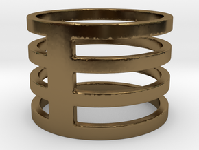 My Awesome Ring Design Ring Size 8.25 in Polished Bronze