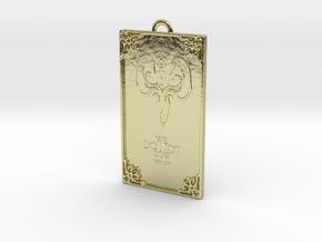 Game of Thrones - Greyjoy Pendant in 18k Gold
