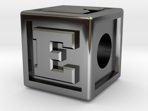 "Name Pieces; Letter ""E"" in Premium Silver"