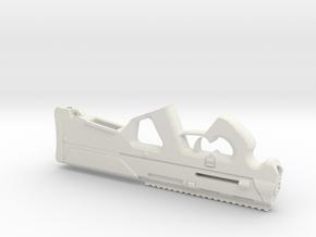 1:6 5.56 personal defense rifle  in White Natural Versatile Plastic