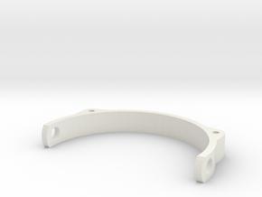 PUPPETEYELID3 Holder in White Natural Versatile Plastic