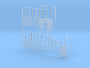 Multiple-windows4 in Smooth Fine Detail Plastic