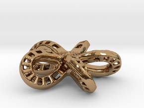Five Loop in Polished Brass