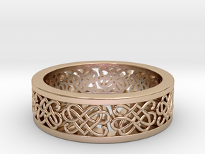Celtic Band 1 in 14k Rose Gold