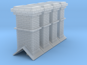 O Booking Station Chimneys in Smooth Fine Detail Plastic