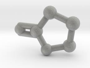 Gamma-Butyrolactone Necklace Earring in Metallic Plastic