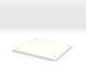 ROTS Belt Box Lid in White Processed Versatile Plastic