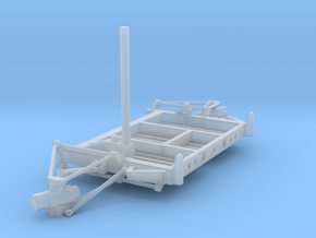 07B-LRV - Aft Platform Turning Left in Smooth Fine Detail Plastic