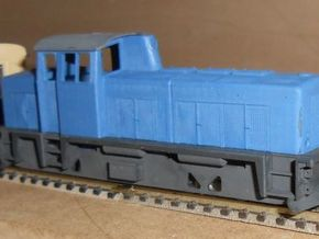 ZB (H0e) - O&K Diesellok MD18s D8/9 (alt) in Frosted Ultra Detail