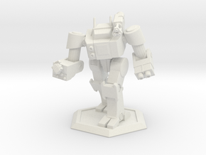 Mecha- Thylacine (1 285th) in White Strong & Flexible