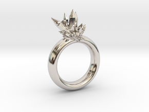 Catalyst Ring-10 mm in Rhodium Plated Brass