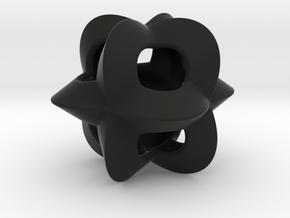 Pendant-c-4-3-20-p1o in Black Natural Versatile Plastic