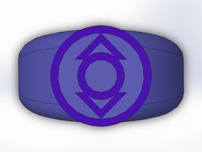 Indigo Lantern Ring in Full Color Sandstone