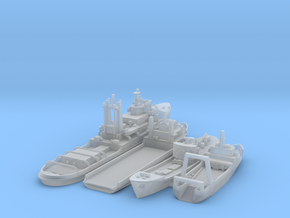 Cod War set 4 1/1250  in Smooth Fine Detail Plastic