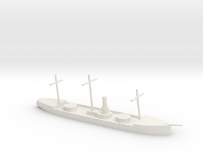 HMS Scorpion, 1/600 in White Natural Versatile Plastic