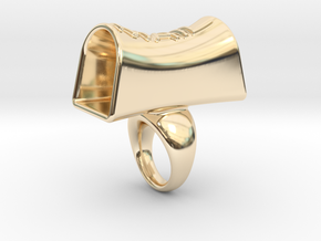 Message of love 19 in 14K Yellow Gold