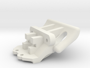 Losi Micro 1/24 Truggy Bumper in White Strong & Flexible