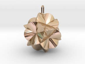 Pendant-c-6-5-30-45-p1o1 in 14k Rose Gold Plated Brass