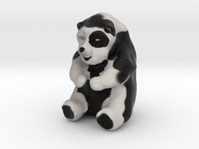 Mildly Obese Panda in Full Color Sandstone