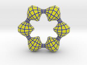 0105 Antisymmetric Torus (p=6;u=36;v=12) 10cm #012 in Full Color Sandstone