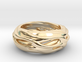 Seraphina in 14k Gold Plated Brass
