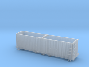 HOn30 Sandy River 28 foot Boxcar in Smooth Fine Detail Plastic