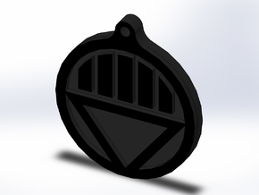 Black Lantern Key Chain in Full Color Sandstone