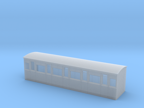 009 colonial 5 compartment 3rd  coach in Smooth Fine Detail Plastic