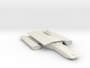 Daedalus class in White Natural Versatile Plastic