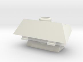 IDF 1/16 M50 Super Sherman Manlet in White Natural Versatile Plastic