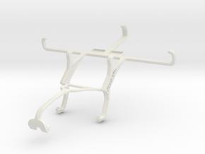 Controller mount for Xbox 360 & Lenovo Golden Warr in White Natural Versatile Plastic