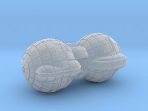 Terran (TFN) Battleship in Smooth Fine Detail Plastic