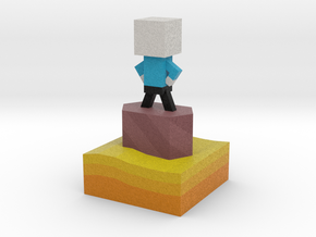 Mr Jump - Level 3 in Full Color Sandstone
