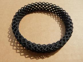 Octet Bangle in Black Strong & Flexible