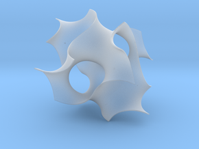 Gyroid unit cell in Smooth Fine Detail Plastic