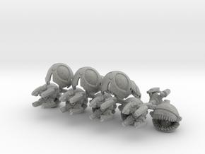 Scrapaci Famishius (5 pack) in Metallic Plastic