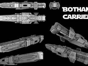 Bothan Carrier in White Strong & Flexible