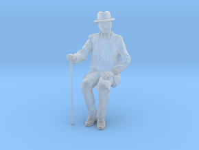 1:32 scale David sitting FUD in Smooth Fine Detail Plastic