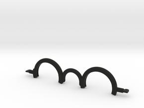 Trigun Sunglasses Frame (40mm lens) in Black Natural Versatile Plastic