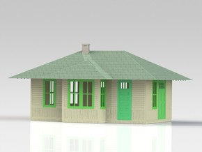 WP Desert Depot in Smooth Fine Detail Plastic