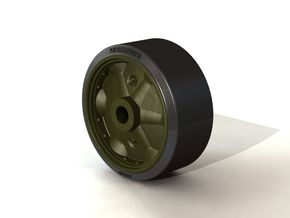 B168525 STAMPED WHEEL in Smooth Fine Detail Plastic