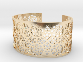 Bracelet Fatehpur Sikri India - Silver L (187mm) in 14K Yellow Gold