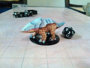 Bulette in White Natural Versatile Plastic