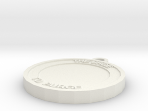 Carol's Medallion in White Natural Versatile Plastic