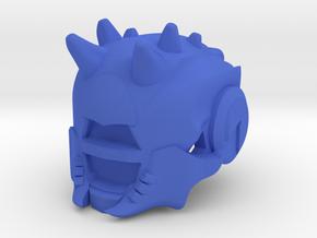 Skull Of Dire Ahamkara in Blue Processed Versatile Plastic