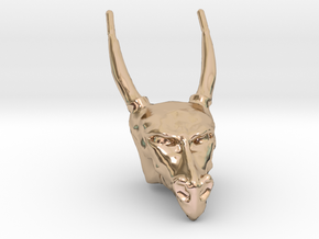 Dragon Head in 14k Rose Gold