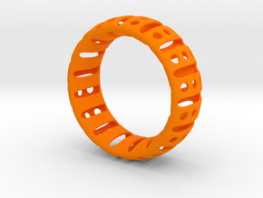 Bracelet classic 65 in Orange Strong & Flexible Polished