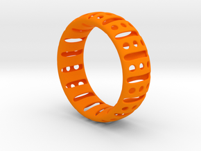 Bracelet classic 70 in Orange Processed Versatile Plastic